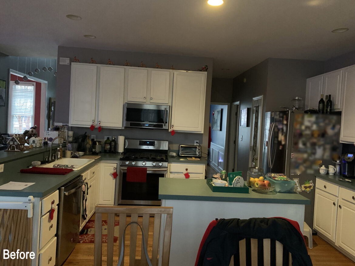 Kitchen of the Month Winner for New Cabinets for June